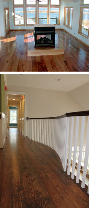 outer banks hardwood floor maintenance